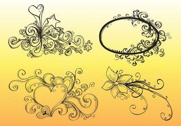 Hand Drawn Vector Graphics - Free vector #143093