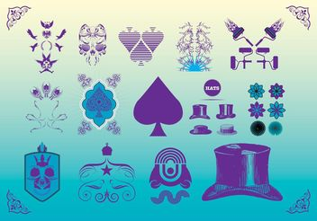 Vector Art Freebies Set - Kostenloses vector #143123