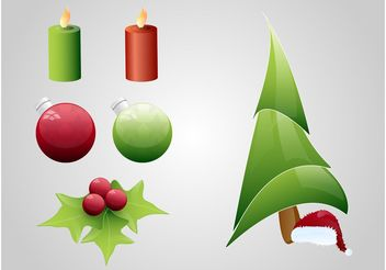Christmas Graphics - vector gratuit #143203