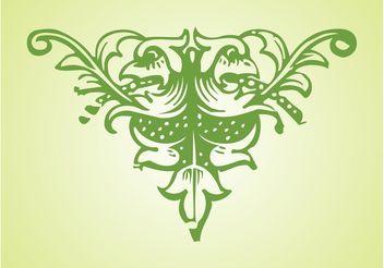 Antique Ornament Design - Free vector #143213