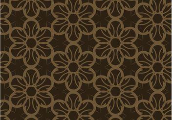 Dark Floral Pattern - Kostenloses vector #143493