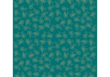 Vector Bike Pattern Background - vector gratuit #143633
