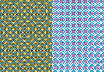 Seamless Patterns Vector - vector #143783 gratis