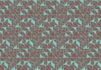 Deco Abstract Pattern Background Vector - Free vector #143873