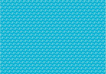 Waves Vector Pattern - vector gratuit #144043