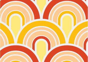 Waving Pattern Vector - vector #144073 gratis