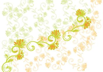 Flower Design - Free vector #144493