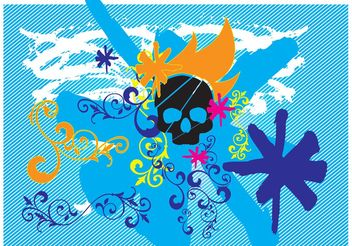Pirate Grunge Graphics - vector #144533 gratis