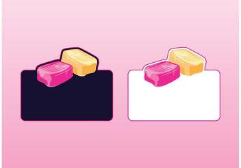 Candy Logos - vector gratuit #144963