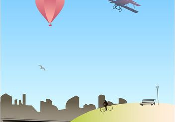 Big City Vector - vector #145163 gratis