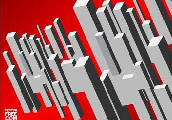 3D Rectangles - Kostenloses vector #145303