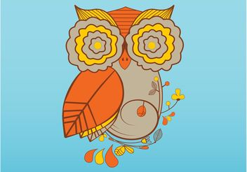 Owl Vector - Free vector #146113