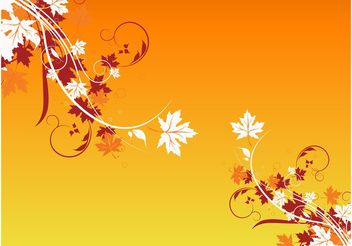 Autumn Design Elements - Free vector #146363