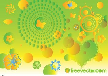Spring Vector Art Graphics - Free vector #146743