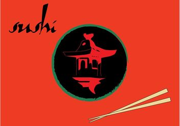 Sushi Restaurant Designs - vector #147063 gratis
