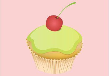 Tasty Cupcake - vector gratuit #147153