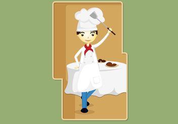 Chef Vector - Kostenloses vector #147373