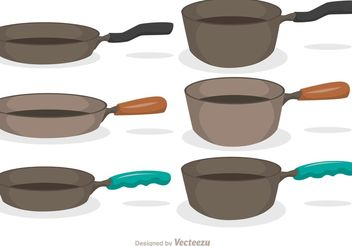 Pan Icons Vector Pack - Free vector #147413