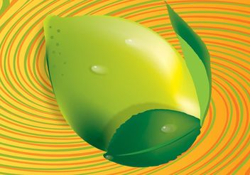 3D Lemon Vector - бесплатный vector #147493