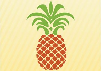 Pineapple - vector gratuit #147563