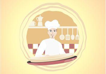 Vector Chef - vector #147633 gratis