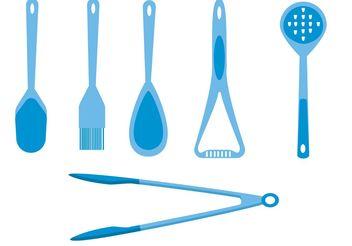 Vector Spoons - vector #147993 gratis
