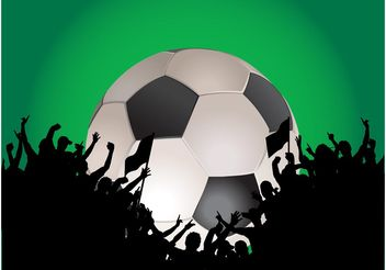 Football Layout - vector #148303 gratis