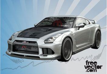 Race Car Vector - Free vector #148673