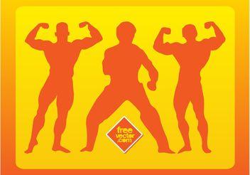 Vector Wrestlers - Free vector #148753