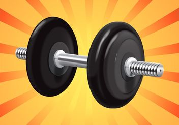 Lifting Weights - vector gratuit #148773