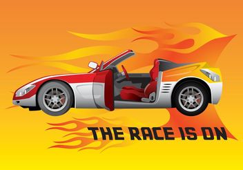 Race Car - Free vector #148893