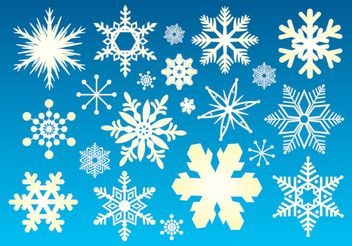Snow Graphics - vector gratuit #148913