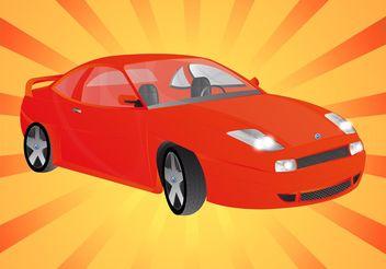 Fiat Car - vector gratuit #149043