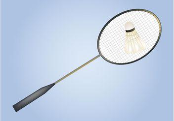 Badminton Vector - Free vector #149063