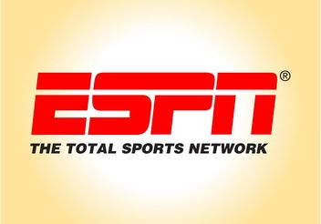 ESPN Logo Graphics - vector gratuit #149093