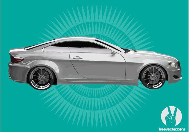 White BMW - vector gratuit #149103