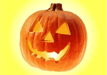 Halloween Pumpkin Vector - бесплатный vector #149283