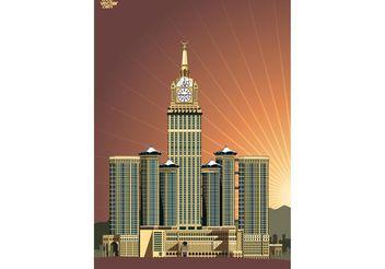 Abraj Al Bait - Free vector #149863
