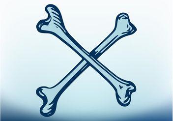 Crossbones Vector - Free vector #150083