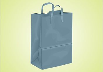 Shopping Paper Bag - vector gratuit #150293