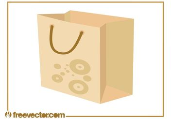 Shopping Bag Vector - Free vector #150303