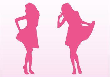 Vector Fashion Girls - Kostenloses vector #150613