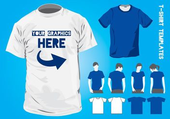 T-Shirt Design Templates - Free vector #150683