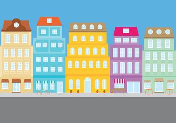 Outdoor Building Background - vector #150693 gratis