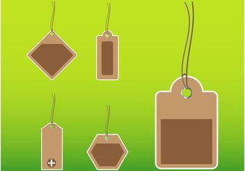 Price Tag Templates - Free vector #150963