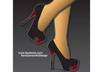 High Heels Vector - vector #151253 gratis