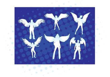 Angel Girls - Free vector #151263