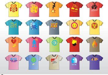 T-Shirt Vector - Free vector #151343