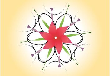 Spring Flower Icon - Free vector #151733