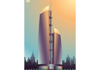 Federation Tower - vector #151853 gratis